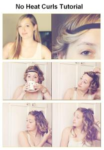 No Heat Curls Tutorial
